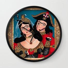 Qajar Dynasty Wall Clock