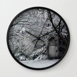 Castles in the Garden (#4) Wall Clock