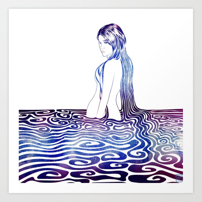 Water Nymph XXXII Art Print