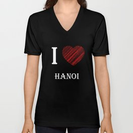 Hanoi Classic. I love my favorite city. Unisex V-Neck