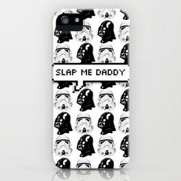 Slap me daddy iPhone Case