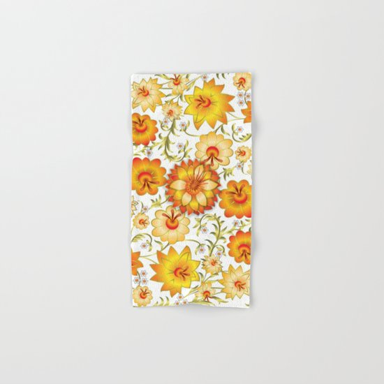 Shabby flowers #13 Hand & Bath Towel