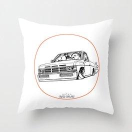 Crazy Car Art 0207 Throw Pillow