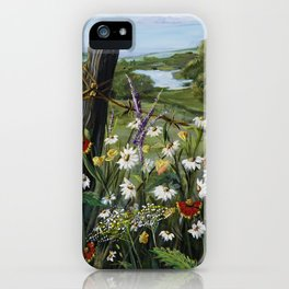 Wild Daisies iPhone Case