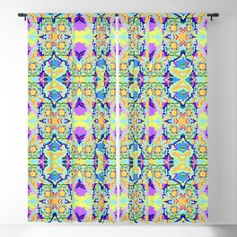 Organic Worlds Blackout Curtain