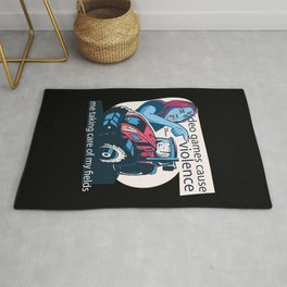 Video Game Cat Meme Rug