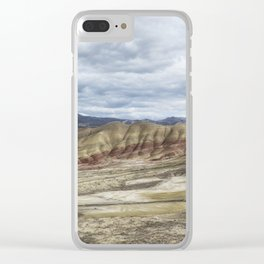 Heaven at Painted Hills Clear iPhone Case