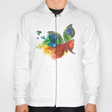 colorful butterfly Hoody