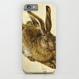Albrecht Durer - Hare iPhone Case