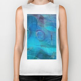 Guitar Study Blues Biker Tank