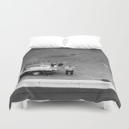 Council Workers Duvet Cover