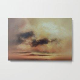 Shades of Sands Metal Print