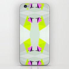 Polygon Neon iPhone Skin