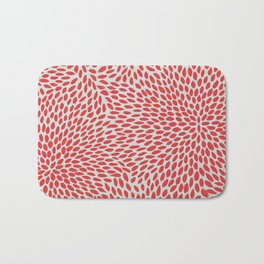 NO QUIETUDE RED Bath Mat