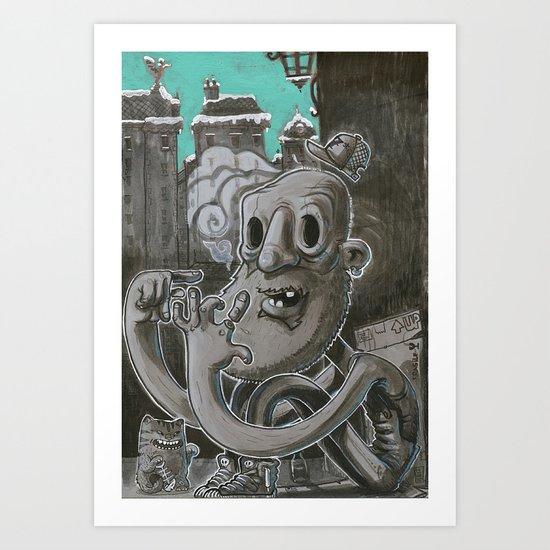 F.U.C.K Art Print