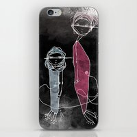 kevin russ iPhone & iPod Skins featuring ABOUT KEVIN by yosoydan