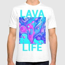 Lava Lamp Lady T-shirt