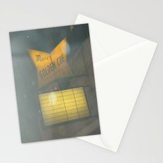 Marie's Golden Cue ~ Chicago Billiards Stationery Cards