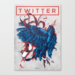 Social Networks / Twitter Canvas Print