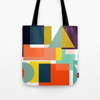 geo Tote Bags featuring Geo by Mr and Mrs Quirynen