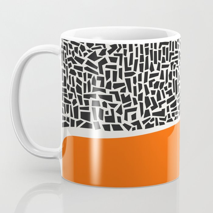 City Sunset Abstract Coffee Mug