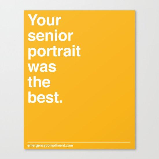 Senior Portrait Canvas Print