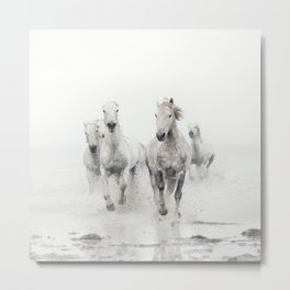 Ghost Riders - Horse Art Metal Print