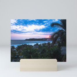 Atardece en zicatela 1 Mini Art Print