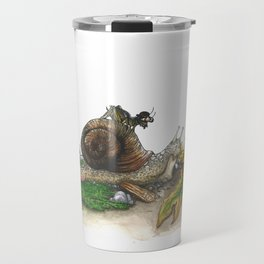 Little Worlds: Snail and Cricket Travel Mug