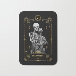 The Lovers VI Tarot Card Bath Mat