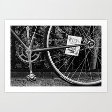 Wheeled Warrior Art Print