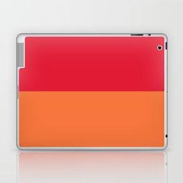 Raspberry Peach Orange Laptop & iPad Skin