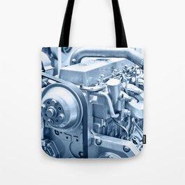 Turbo Diesel Engine Tote Bag