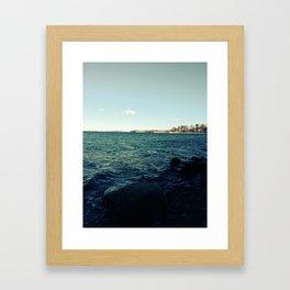 Winter Bay Framed Art Print
