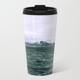 SEA - SNOW - OCEAN - ICE - COLD - COOL - PHOTOGRAPHY Travel Mug