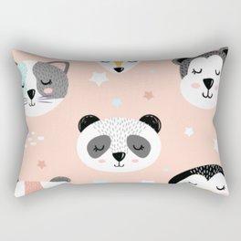 Animal Friends Rectangular Pillow