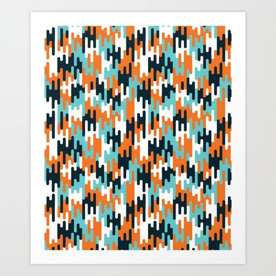 Flow 2 Art Print