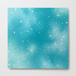 Winter Nebula Metal Print