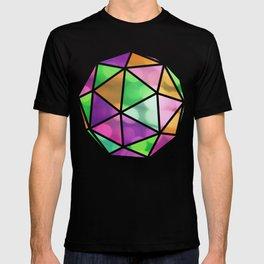 vivid dodecahedron T-shirt