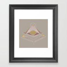 Pyramids 4 Framed Art Print