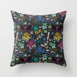 Rock'n'Chic Throw Pillow