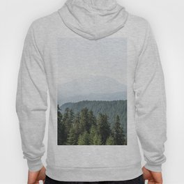Lookout Ridge - Mountain Nature Photography Hoody