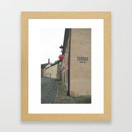 Krumlov III Framed Art Print