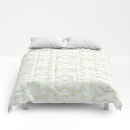 Ghost Kaleidoscope (Citrine) Comforters