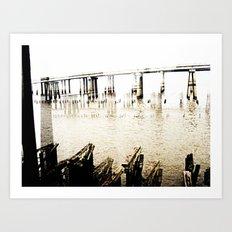 lake ponchartrain Art Print