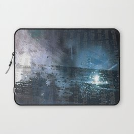 Taking the Evening Train Through Winter Words Laptop Sleeve
