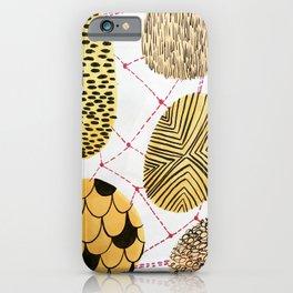 Honey Orbs iPhone Case