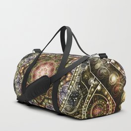 Mandalas from the Voice of Eternity 8 Duffle Bag