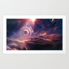 Void sector Art Print