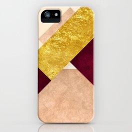 Modern Mountain No3-P3 iPhone Case